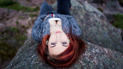 Beautiful Young Red Haired Girl