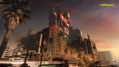 Cyberpunk 2077 Beautiful Big Future City
