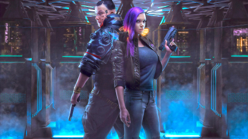 Cyberpunk 2077 Beautiful Cyborgs