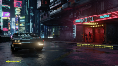 Cyberpunk 2077 Beautiful Night City
