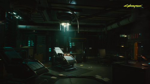 Cyberpunk 2077 Dark Workshop