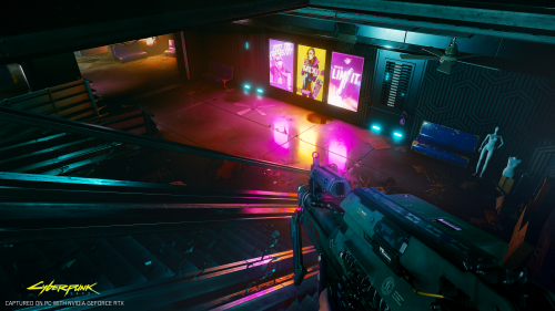 Cyberpunk 2077 First Person Action