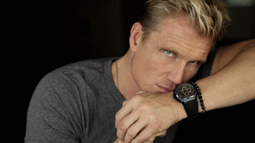 Dolph Lundgren blond USA actor