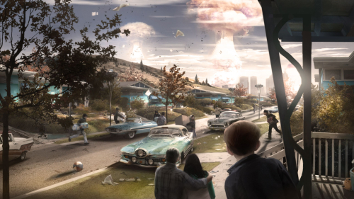 Fallout 4 Nuclear Explosions