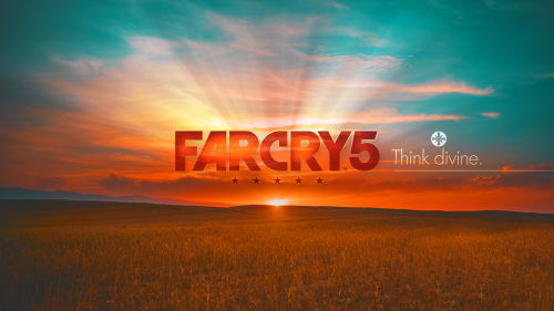 Far Cry 5 Think Divine Beautiful Sunset
