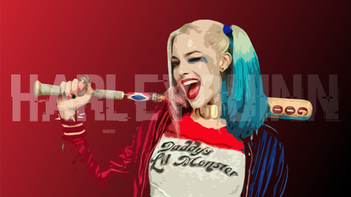 Harley Quinn by Margot Robbie from Suicide Squad