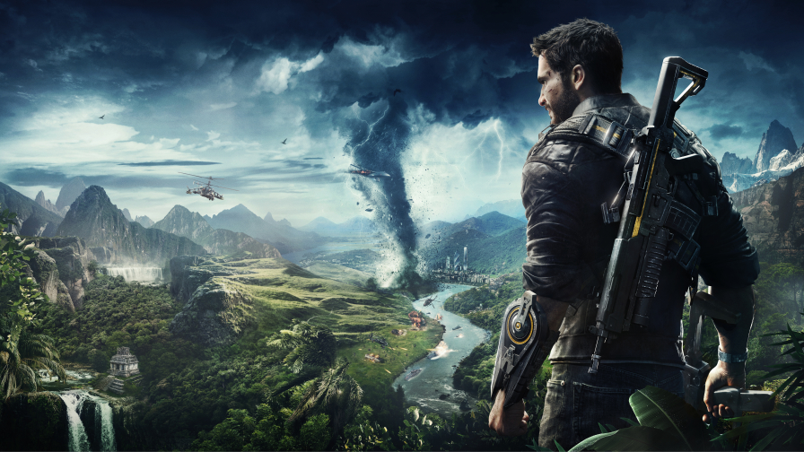 Just Cause 4 Beautiful Open World