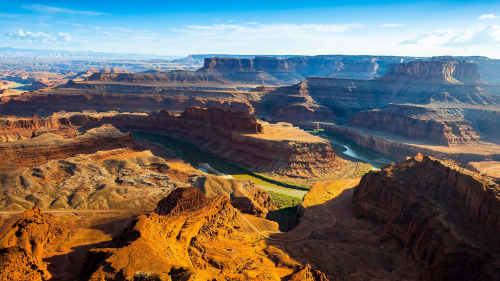 Wonderful Canyon and River