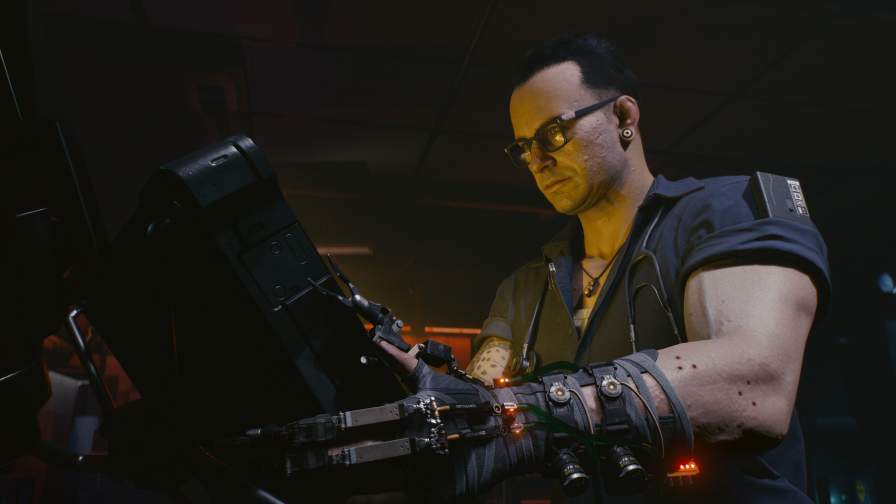 Cyberpunk 2077 Engineer