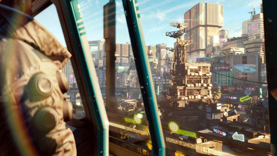 Cyberpunk 2077 Future City