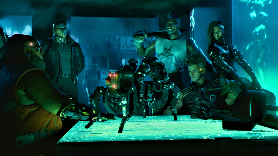Cyberpunk 2077 The Squad