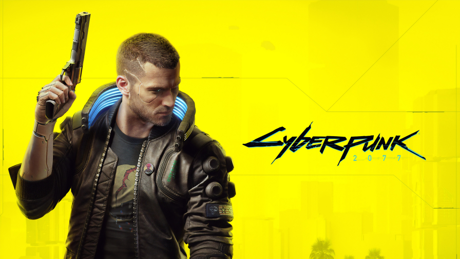 Cyberpunk 2077 Yellow Wall